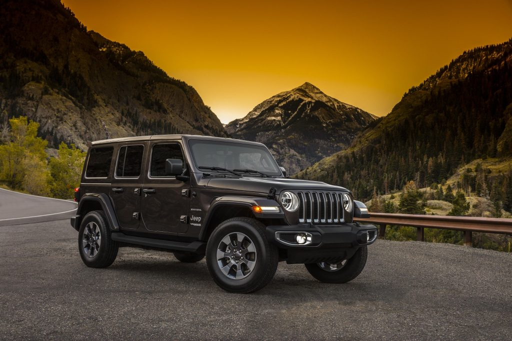 Jeep Wrangler 2018 unlimited