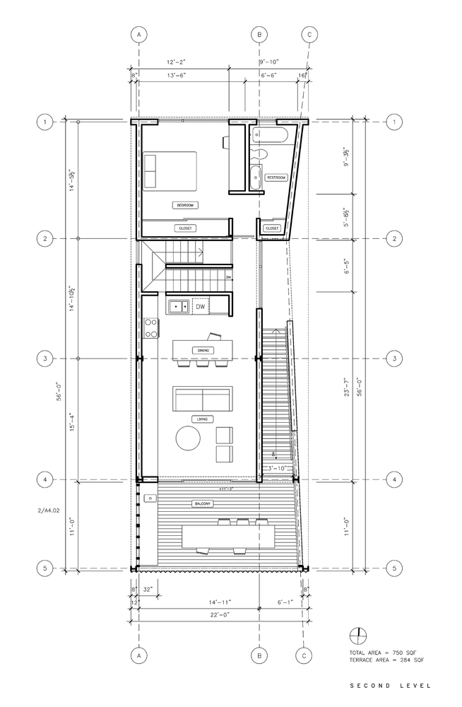 Shotgun Chameleon house plan